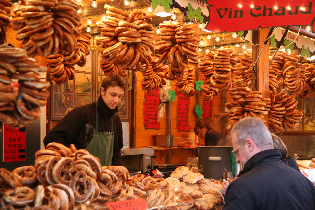 Christmas Market Food Stall