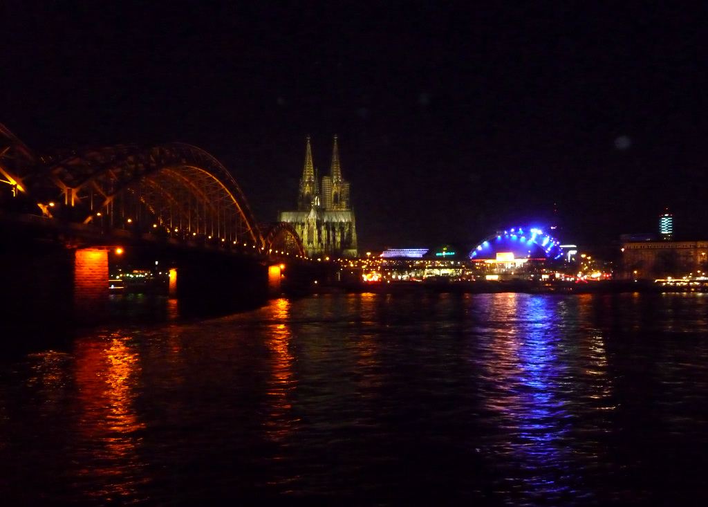 Cologne Cathedral and Hohenzollernbrücke Bridge