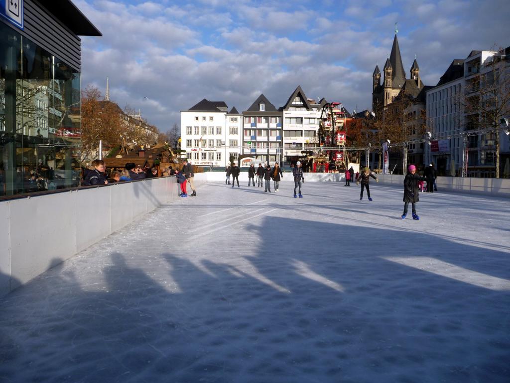 Ice Rink at Heumarkt