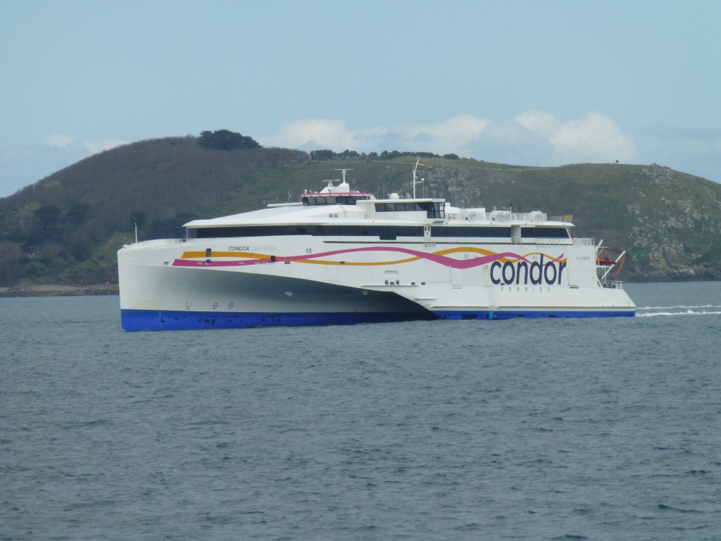 Condor Ferries in Guernsey