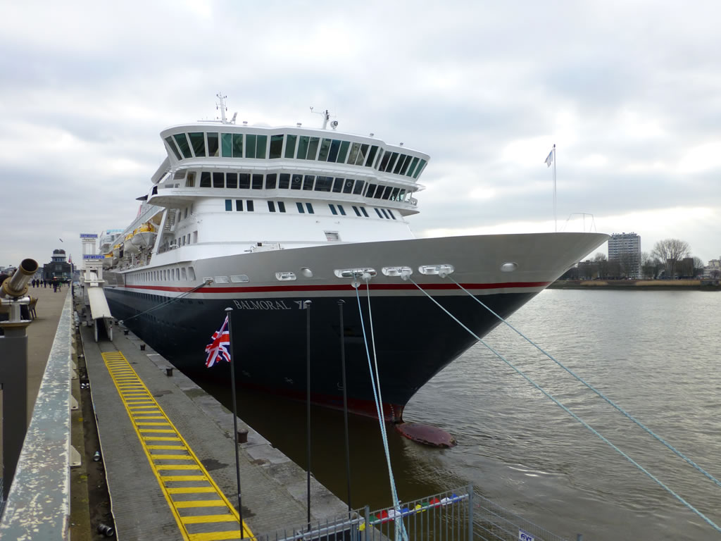Fred. Olsen Cruise Lines' Balmoral