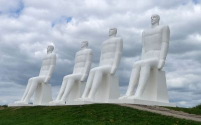 Men By The Sea Sculptures in Esbjerg