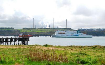 Irish Ferries at Pembroke Dock