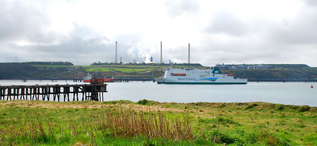 Irish Ferries at Pembroke Dock