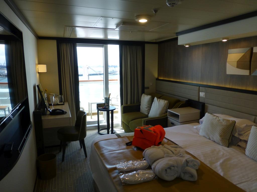 P&O Cruises Britannia Balcony cabin
