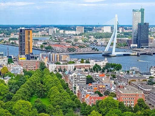 Rotterdam cityscape