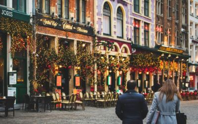 Strolling through Bruges in December