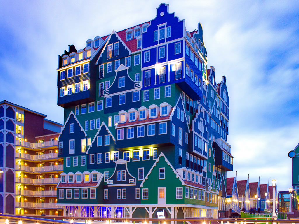 Quirky Architecture in Amsterdam